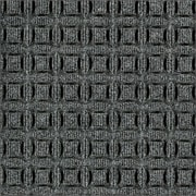 Anderson Eco Select™ PET Polyester Indoor Floor Mat, 4' x 6', Gray Ash