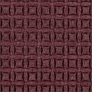 "Andersen Eco Select PET Polyester Indoor Mat 36"" x 24"", Maroon"