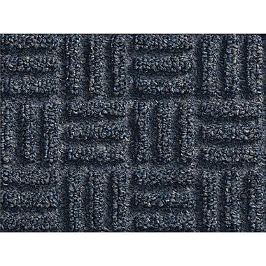 Andersen Waterhog Masterpiece Select Polypropylene Indoor Wiper Mat, 4' x 6', Ocean Wave with Cleated Backing