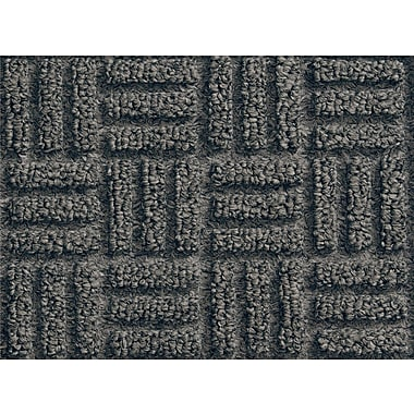 Anderson Waterhog™ Masterpiece™ Select Polypropylene Indoor Wiper Mat, 3' x 5', Pewter