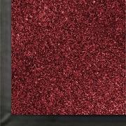 Anderson Impressionist Olefin Fiber Indoor Floor Mat, 4' x 60', Cardinal
