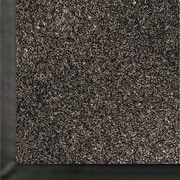 Anderson Impressionist Olefin Fiber Indoor Floor Mat, 4' x 60', Salt/Pepper