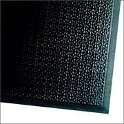 "Andersen Happy Feet Nitrile Rubber Anti-Fatigue Mat 36"" x 24"" Black"