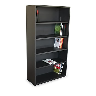 Marvel® Ensemble® 65in. x 36in. x 14in. Five Shelf Bookcases