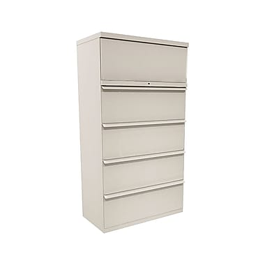 Marvel® Zapf® 66in. x 36in. x 19in. Five Drawer Lateral File, Featherstone