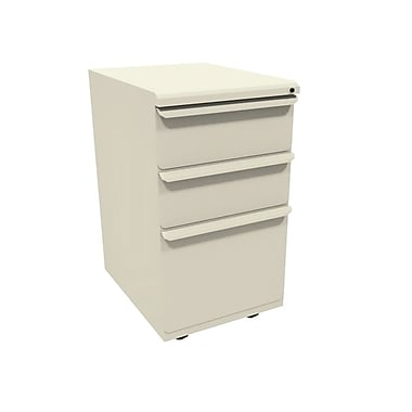 Marvel Zapf 3 Drawer Mobile/Pedestal File, Putty/Beige,Letter/Legal, 15''W (762805303051)