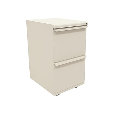 Marvel Zapf 2 Drawer Mobile/Pedestal File, Putty/Beige,Letter/Legal, 15''W (762805300258)
