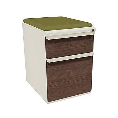 Marvel Zapf 2 Drawer Mobile/Pedestal File, Mahogany,Letter/Legal, 15''W (762805003869)