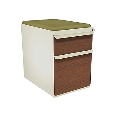 Marvel Zapf 2 Drawer Mobile/Pedestal File, Cherry,Letter/Legal, 15''W (762805003944)