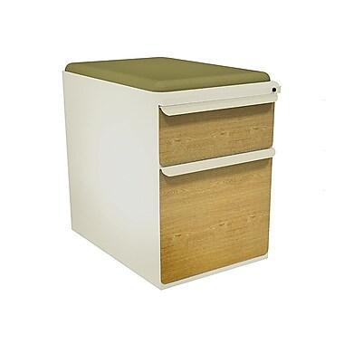 Marvel Zapf 2 Drawer Mobile/Pedestal File, Oak,Letter/Legal, 15''W (762805003968)