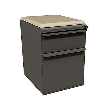 Marvel Zapf 1 Drawer Mobile/Pedestal File, Charcoal,Letter/Legal, 15''W (762805004002)