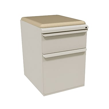 Marvel Zapf 2 Drawer Mobile/Pedestal File, Putty/Beige,Letter/Legal, 15''W (762805004026)