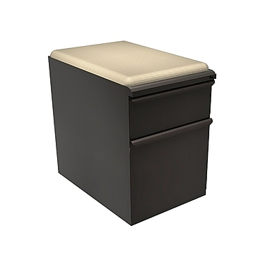 Marvel Zapf 1 Drawer Mobile/Pedestal File, Charcoal,Letter/Legal, 15''W (762805004033)