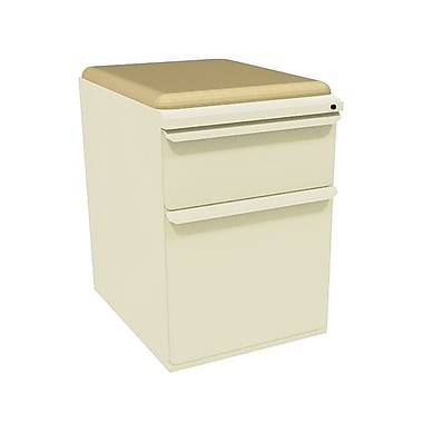 Marvel Zapf 2 Drawer Mobile/Pedestal File, Putty/Beige,Letter/Legal, 15''W (762805004255)