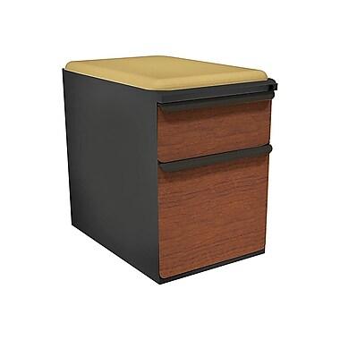 Marvel Zapf 2 Drawer Mobile/Pedestal File, Cherry,Letter/Legal, 15''W (762805004392)