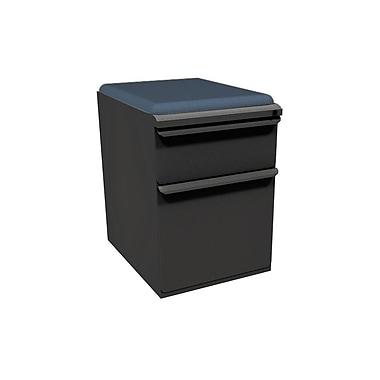 Marvel Zapf 1 Drawer Mobile/Pedestal File, Charcoal,Letter/Legal, 15''W (762805004484)