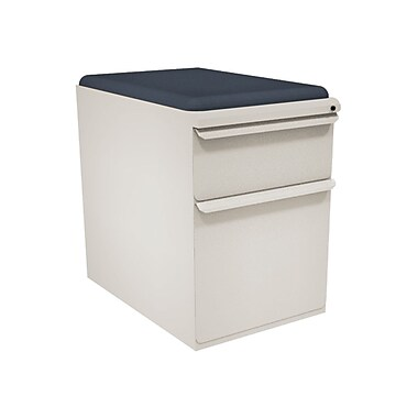 Marvel Zapf 2 Drawer Mobile/Pedestal File, Putty/Beige,Letter/Legal, 15''W (762805004538)