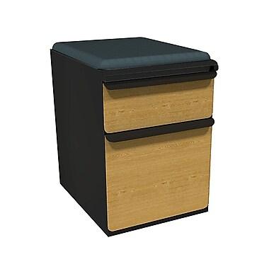 Marvel Zapf 1 Drawer Mobile/Pedestal File, Oak,Letter/Legal, 15''W (762805004569)
