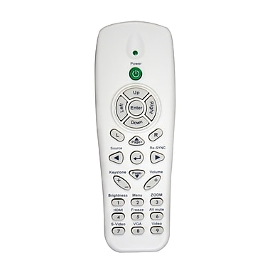 Optoma BR-3048N Remote Control for HD66 Projector, White