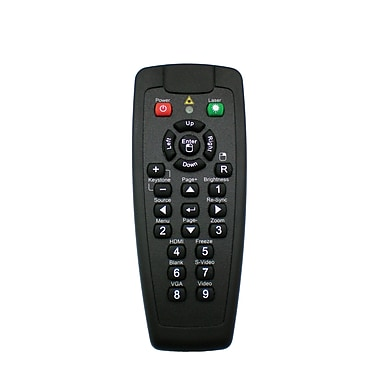 Optoma BR-5021L Laser and Mouse Remote Control For EX330