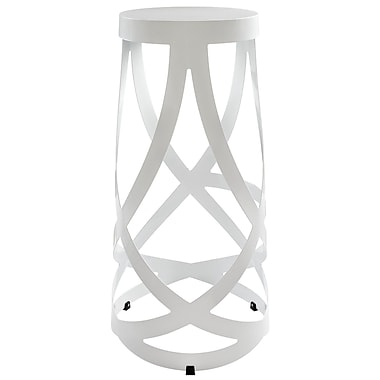 Modway Ribbon Aluminum Bar Stool, White