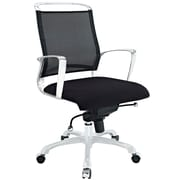 Modway Strive Foam Padded Mid Back Office Chair, Black