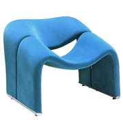 Modway Cusp Fabric Lounge Chair, Blue