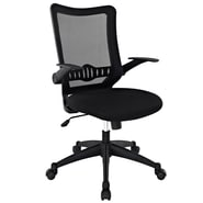 Modway EEI-1104-BLK Mid-Back Office Chair, Black