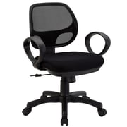 Modway EEI-275-BLK Panorama Mesh Task Chair with Fixed Arms, Black