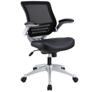 Modway Edge Leather Mesh Back Office Chairs