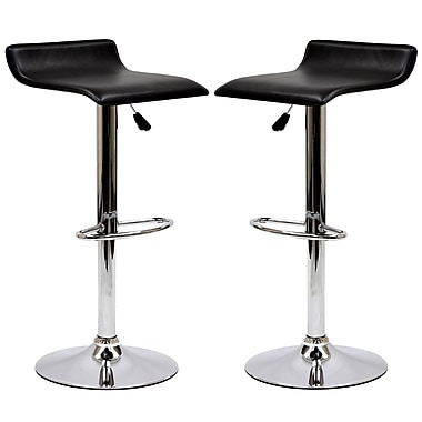 Modway Gloria 2/Pack Leatherette Bar Stool Set