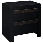 Modway Tommy Antique Stained Nightstand, Black, 23 1/2 x 16 1/2 x 23 1/2