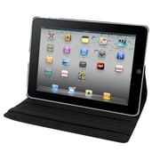 Natico 60-IA360-BK Faux Leather Folio Case for Apple iPad Air, Black