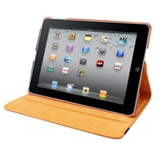 Natico 60-IA360-OR Faux Leather Folio Case for Apple iPad Air, Orange