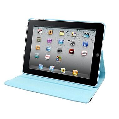 Natico 60-IA360-LBL Faux Leather Folio Case for Apple iPad Air, Light Blue