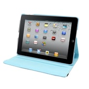 Natico 60-IA360-LBL Faux Leather Folio Case for Apple iPad Air, Light Blue