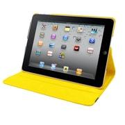 Natico 60-IA360-YW Faux Leather Folio Case for Apple iPad Air, Yellow
