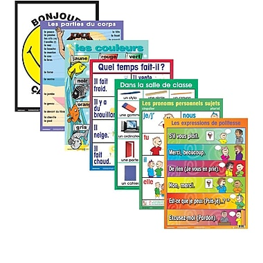 French/FSL classroom Posters - No 1 (7 pack)