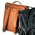 Andrew Philips Vaqueta Napa Convertible Laptop Flap Leather Briefcase; Tan