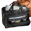 Andrew Philips Vaqueta Napa Leather Laptop Briefcase; Black