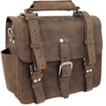 Vagabond Traveler Classic 13'' Heavy Duty Full Leather iPad Laptop Bag