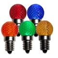 Wintergreen Corporation Christmas Light Bulb (Pack of 25)