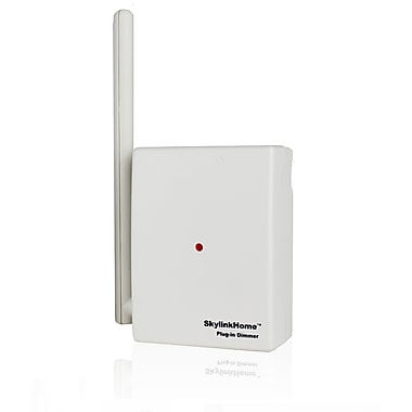 SkyLink® – Gradateur enfichable contrôlable à distance HomeControl PL-318, blanc