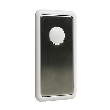 SkyLink® HomeControl TM-002 Decorative Snap-On Switch Cover for WE-001 Wall Switch, White