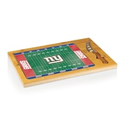 """Picnic Time® NFL Licensed Icon """"New York Giants"""" Digital Print Cutting Board, Natural Wood"""
