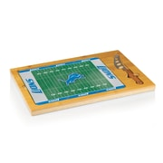 """Picnic Time® NFL Licensed Icon """"Detroit Lions"""" Digital Print Cutting Board, Natural Wood"""