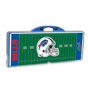 "Picnic Time® NFL Licensed ""Buffalo Bills"" Digital Print ABS Plastic Sport Picnic Tables"