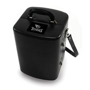 Picnic Time® NFL Licensed Manhattan Tennessee Titans Engraved Cocktail Tool Case, Black