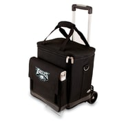Picnic Time® NFL Licensed Cellar Philadelphia Eagles Digital Print Tote With Trolley, Black