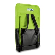 "Picnic Time® NFL Licensed Ventura ""Seattle Seahawks"" Digital Print Polyester Portable Seat, Lime"